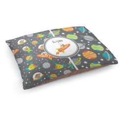 Space Explorer Dog Pillow Bed (Personalized)