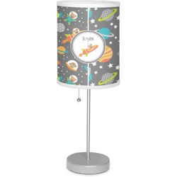 "Space Explorer 7"" Drum Lamp with Shade (Personalized)"