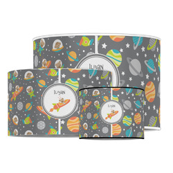 Space Explorer Drum Lamp Shade (Personalized)