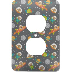 Space Explorer Electric Outlet Plate (Personalized)