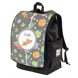 Space Explorer Backpack w/ Front Flap  (Personalized)