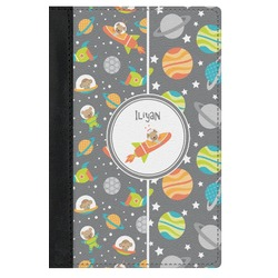 Space Explorer Genuine Leather Passport Cover (Personalized)