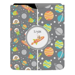 Space Explorer Genuine Leather iPad Sleeve (Personalized)