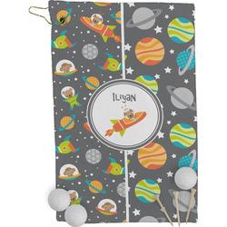 Space Explorer Golf Towel - Full Print (Personalized)