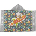 Space Explorer Hooded Towel (Personalized)