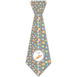 Space Explorer Iron On Tie (Personalized)