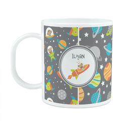 Space Explorer Plastic Kids Mug (Personalized)