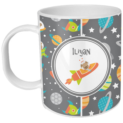 Space Explorer Plastic Kids Mug (Personalized)
