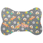 Space Explorer Bone Shaped Dog Food Mat (Personalized)