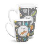 Space Explorer Latte Mug (Personalized)