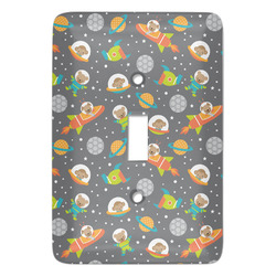 Space Explorer Light Switch Covers - Multiple Toggle Options Available (Personalized)