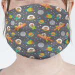 Space Explorer Face Mask Cover (Personalized)