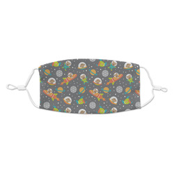 Space Explorer Kid's Cloth Face Mask (Personalized)