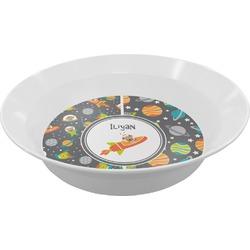 Space Explorer Melamine Bowl (Personalized)