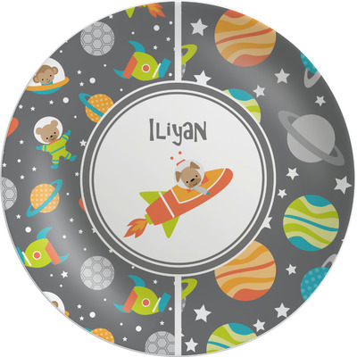 Space Explorer Melamine Plate (Personalized)
