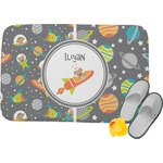Space Explorer Memory Foam Bath Mat (Personalized)