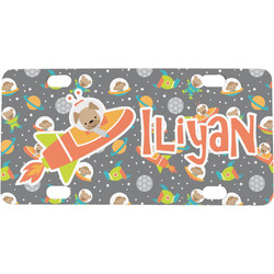 Space Explorer Mini / Bicycle License Plate (Personalized)