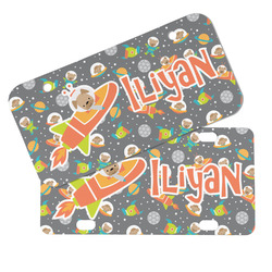 Space Explorer Mini/Bicycle License Plates (Personalized)