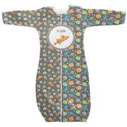 Space Explorer Newborn Gown (Personalized)
