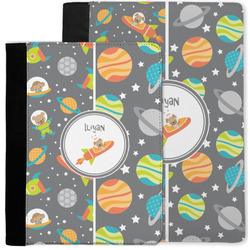 Space Explorer Notebook Padfolio w/ Name or Text