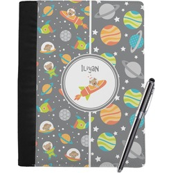 Space Explorer Notebook Padfolio (Personalized)
