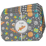 Space Explorer Dining Table Mat - Octagon w/ Name or Text
