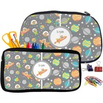 Space Explorer Pencil / School Supplies Bag (Personalized)