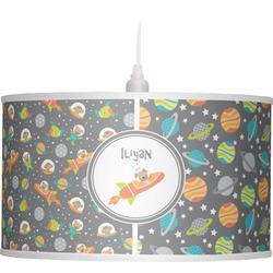 Space Explorer Drum Pendant Lamp (Personalized)