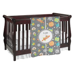 Space Explorer Baby Blanket (Personalized)