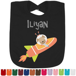 Space Explorer Baby Bib - 14 Bib Colors (Personalized)