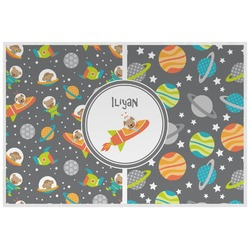 Space Explorer Placemat (Laminated) (Personalized)