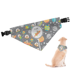 Space Explorer Dog Bandana (Personalized)