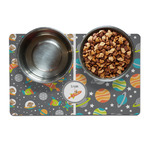 Space Explorer Dog Food Mat (Personalized)