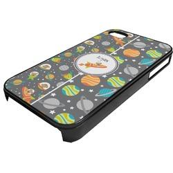 Space Explorer Plastic 4/4S iPhone Case (Personalized)