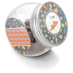 Space Explorer Puppy Treat Jar (Personalized)