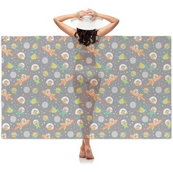 Space Explorer Sheer Sarong (Personalized)