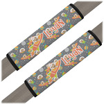 Space Explorer Seat Belt Covers (Set of 2) (Personalized)