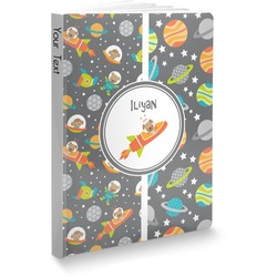 Space Explorer Softbound Notebook (Personalized)