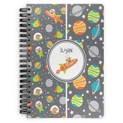 Space Explorer Spiral Bound Notebook (Personalized)