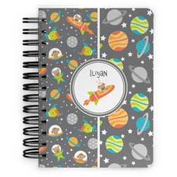 Space Explorer Spiral Bound Notebook - 5x7 (Personalized)