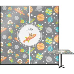 Space Explorer Square Table Top (Personalized)