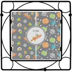 Space Explorer Square Trivet (Personalized)