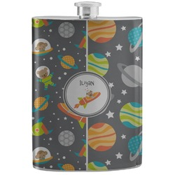 Space Explorer Stainless Steel Flask (Personalized)