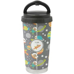 Space Explorer Stainless Steel Travel Mug (Personalized)