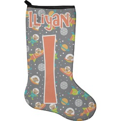 Space Explorer Christmas Stocking - Neoprene (Personalized)
