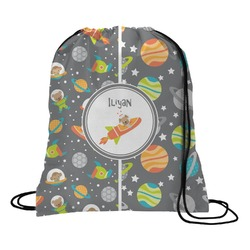 Space Explorer Drawstring Backpack (Personalized)
