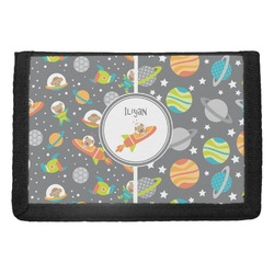 Space Explorer Trifold Wallet (Personalized)