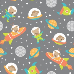 Space Explorer Wallpaper & Surface Covering