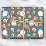 Space Explorer Wrapping Paper (Personalized)