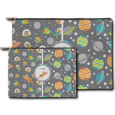 Space Explorer Zipper Pouch (Personalized)